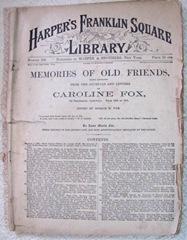 vintage magazines Harpers Franklin Square