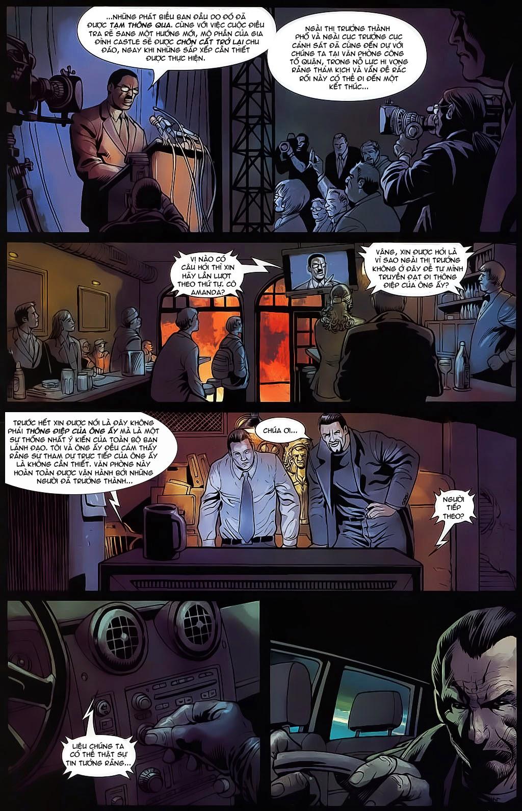 The Punisher: Trên là Dưới & Trắng là Đen chap 4 - Trang 18