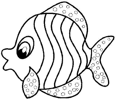 Fichas de peces para colorear - Imagui