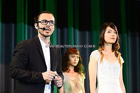 AVEDA SPRING SUMMER 2013 HAIR TRENDS LONDON FASHION WEEK PARIS MILAN romantic fashion art colour hair styles waves perm texture models fun nature beauty CATWALKS FOR WATER LIGHT THE WAY CANDLES EARTH MONTH CHARITY CAUSE