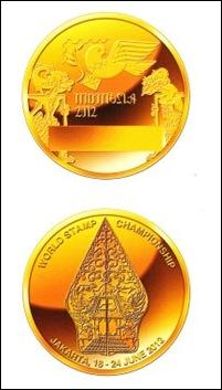 Indonesia2012 medals