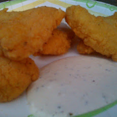 Catfish Nuggets with Tartar Sauce