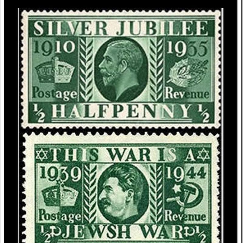 10 falsificações de selos usadas como arma psicológica na Segunda Guerra Mundial