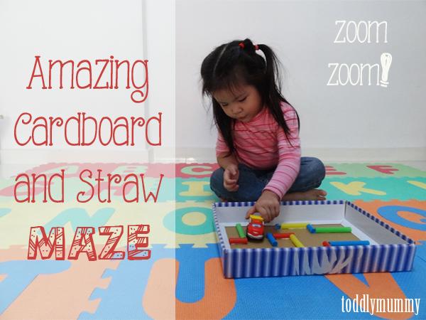 Cardboard maze 1