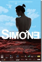 Simone - cartaz do filme