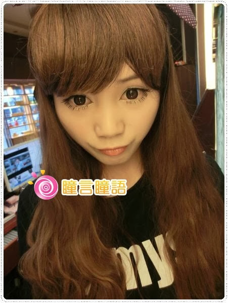 日本KRIAKRIA隱形眼鏡-Sweety Eye 糖果巧克力9