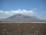 Gunung Baluran from SE, within Baluran National Park (Nick Hughes, October 2012)