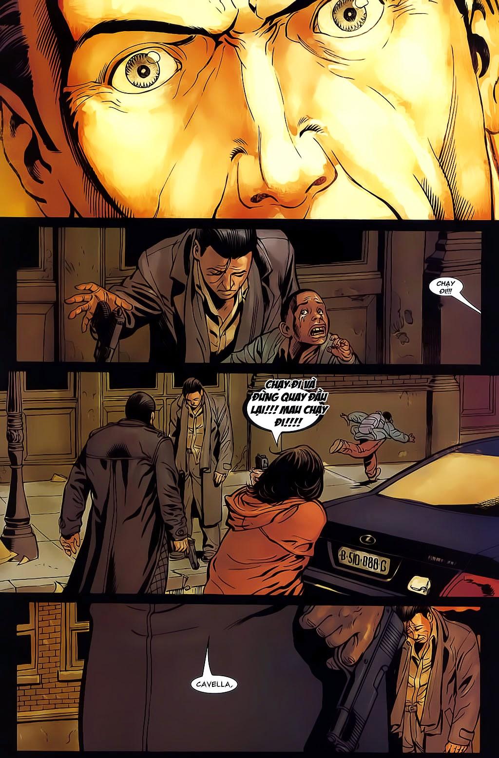 The Punisher: Trên là Dưới & Trắng là Đen chap 6 - Trang 19