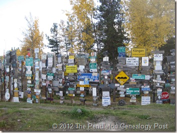 Watson Lake sign forest1