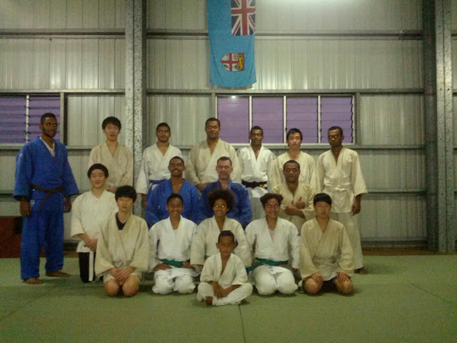 fiji judo training