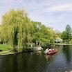 Boston Public Garden & Swan Boats
