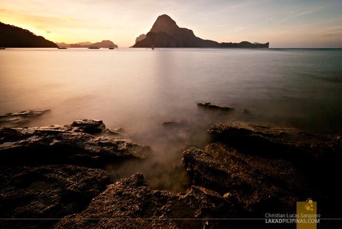 Sunset at El Nido, Palawan