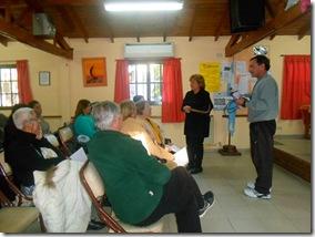 Los encuentros se desarrollan en el marco de los talleres saludables