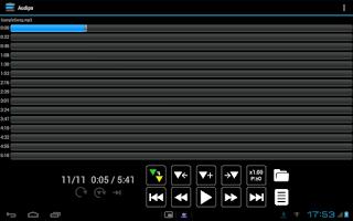 Screenshot of Audipo:Audio Speed Changer