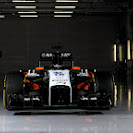 Force India VJM07 F1 car launch pictures