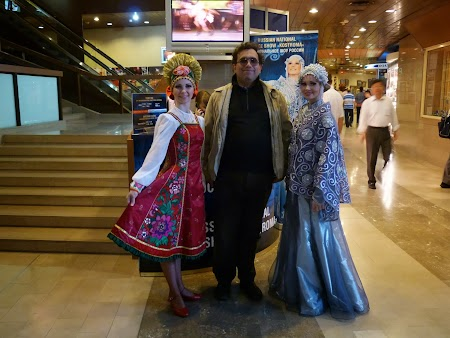 Rusoaice in costume traditionale