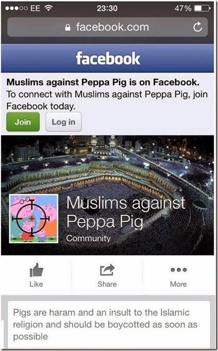 Peppa pig isis