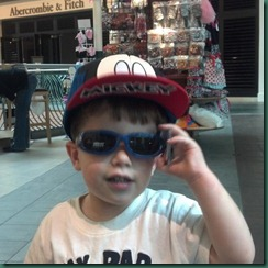 jake sunglasses at mall
