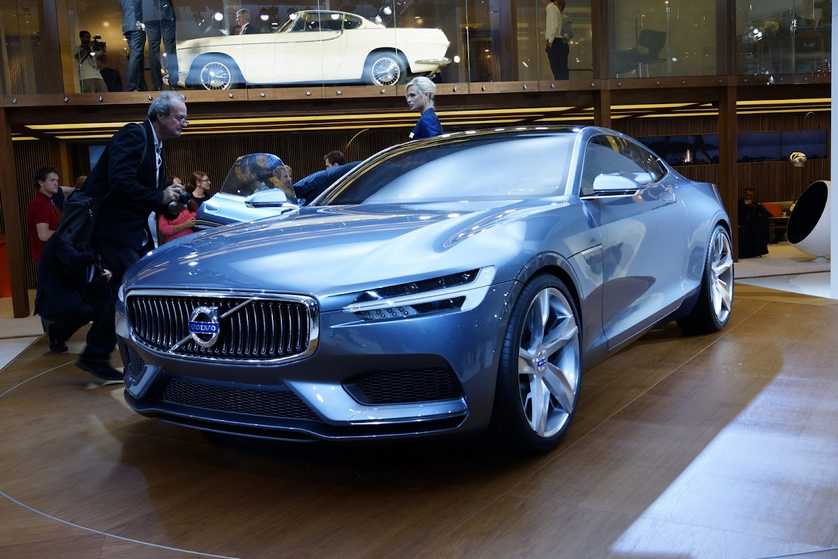Volvo coupe concept is a strong contender for the best looking car volvo concept coupe 1 sciox Choice Image