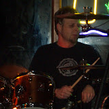 Jeff Scheel on Drums at                               The Little Easy