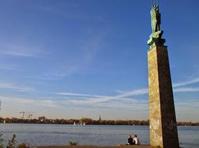 lago Aussenalster, Hamburgo