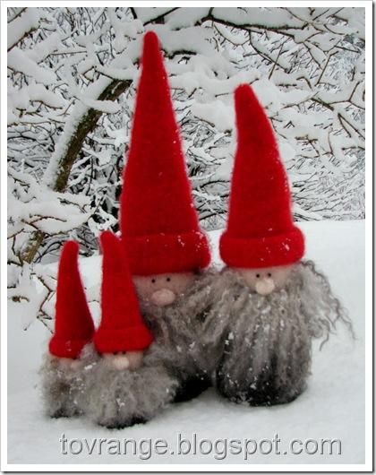 Snø i skjegget