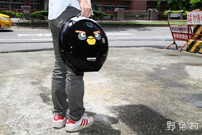 [生活-敗物] Angry Bird造型小行李箱-炸彈鳥