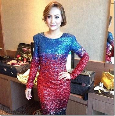 Gambar karpet merah sekitar majlis Anugerah Blokbuster 1