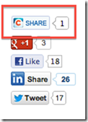 Share button for Salesforce Chatter