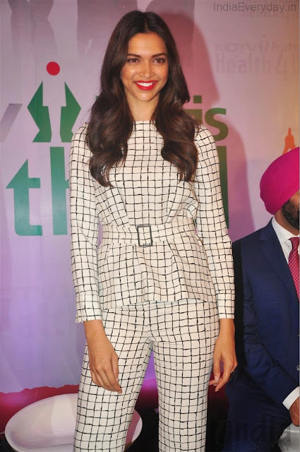 Deepika Padukone launches NDTV Fortis Health4U