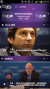Screenshots  beIN SPORTS