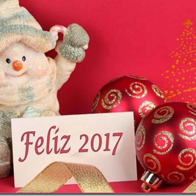 Feliz año 2017, tarjetas para compartir