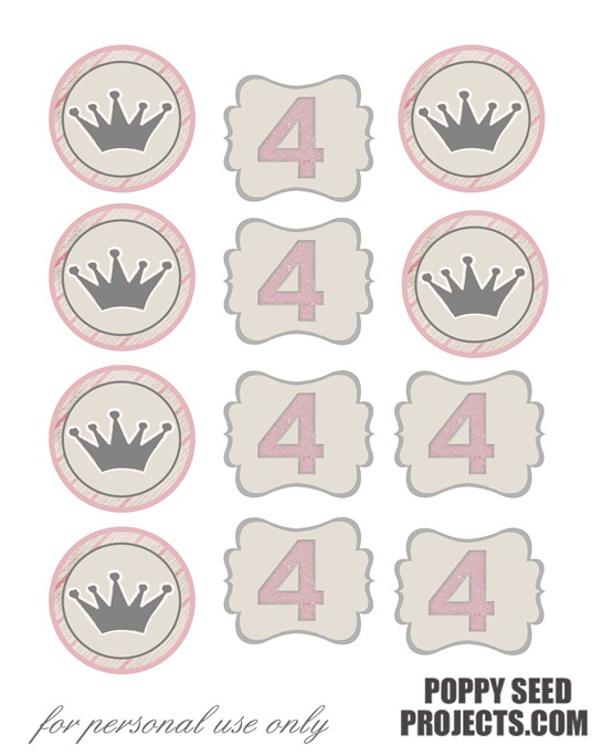 Princess-birthday-party-ideas-cupcake-toppers-free-printable