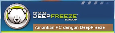 cara uninstall deep freeze