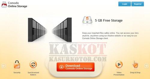Gratis 5GB Free Online Storage dari Comodo