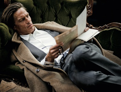Andre Van Noord by TOMO BREJC for L'Officiel Italia, F/W 2011.  Styled by Lee Holden.