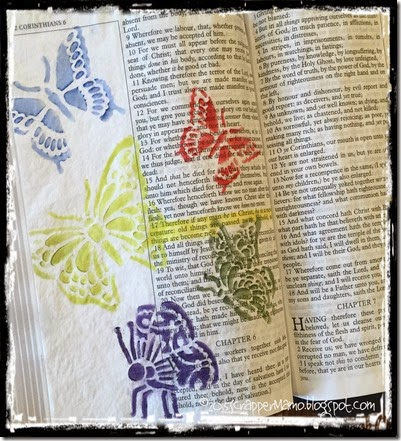 Bible Art Journaling 2 Cor 5-17