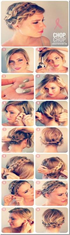como hacer trenzas paso a paso en pelo corto 2013 2014