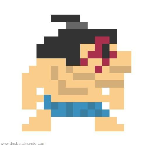 super herois e viloes em 8 bits street fighter (5)