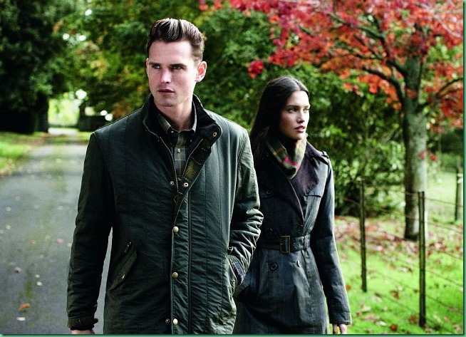 Guy Robinson for Barbour FW 2013/14