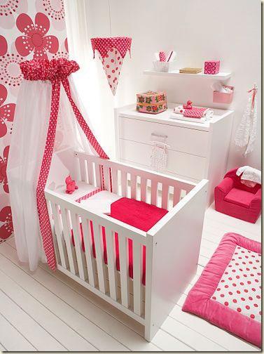 Decoración para dormitorios bebé niña   Decoración de Interiores de ...
