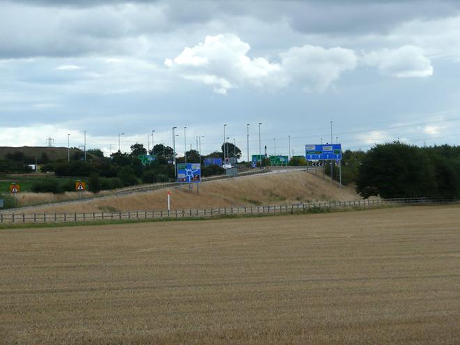 М6 motorway