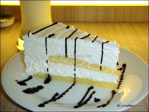 Akiba Cafe Megamall: Yogurt Soft Cake
