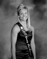 Hayley Sieren 2010 Washington County Fair Queen