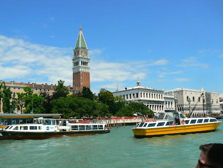 Obiective turistice Venetia: Campanile San Marco