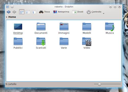 Dolphin - KDE
