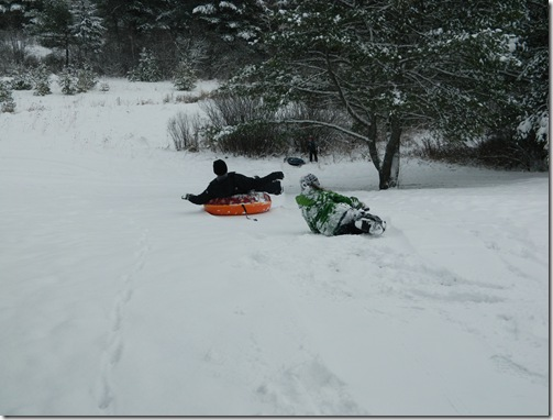 Snowmobiling and Ssledding Dec 2011 053