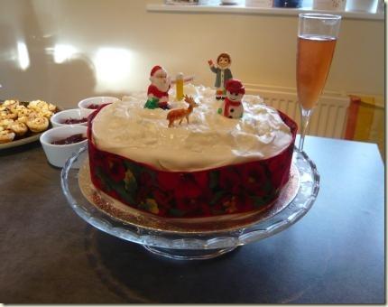 christmas cake 6