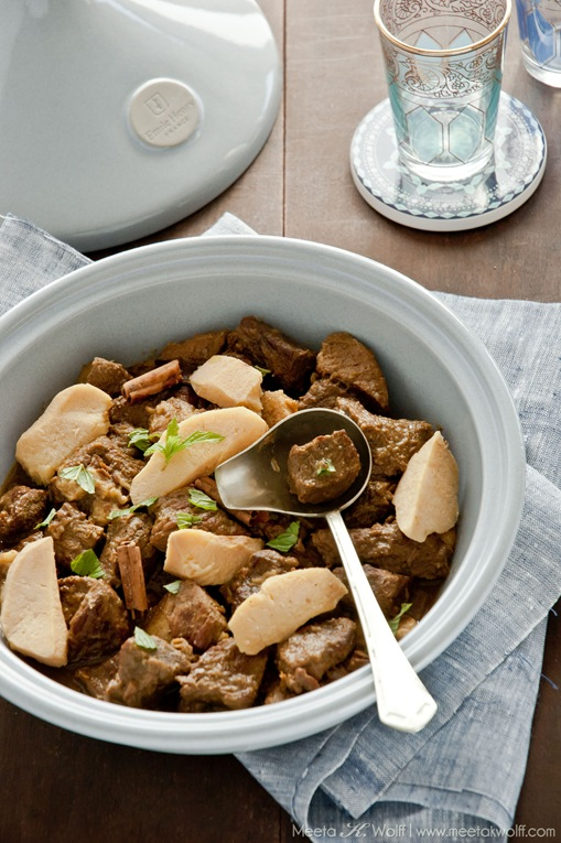 Lamb and Quince Tagine (00012) by Meeta K. Wolff