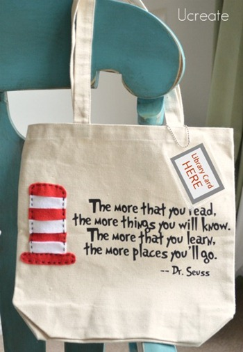 Dr. Suess Tote Bag